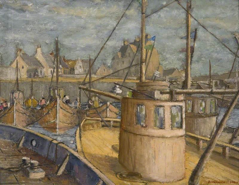 Fishing Boats, Arbroath