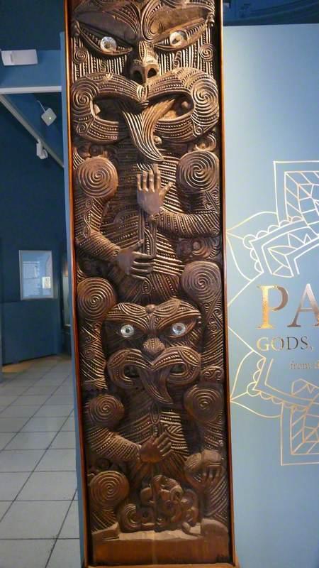 Ngāti Porou House Panel (Poupou)