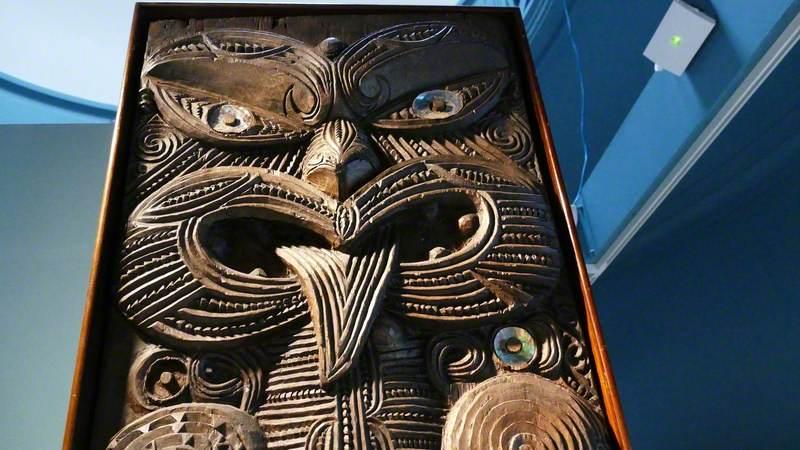 Ngāti Porou House Panels (Poupou)