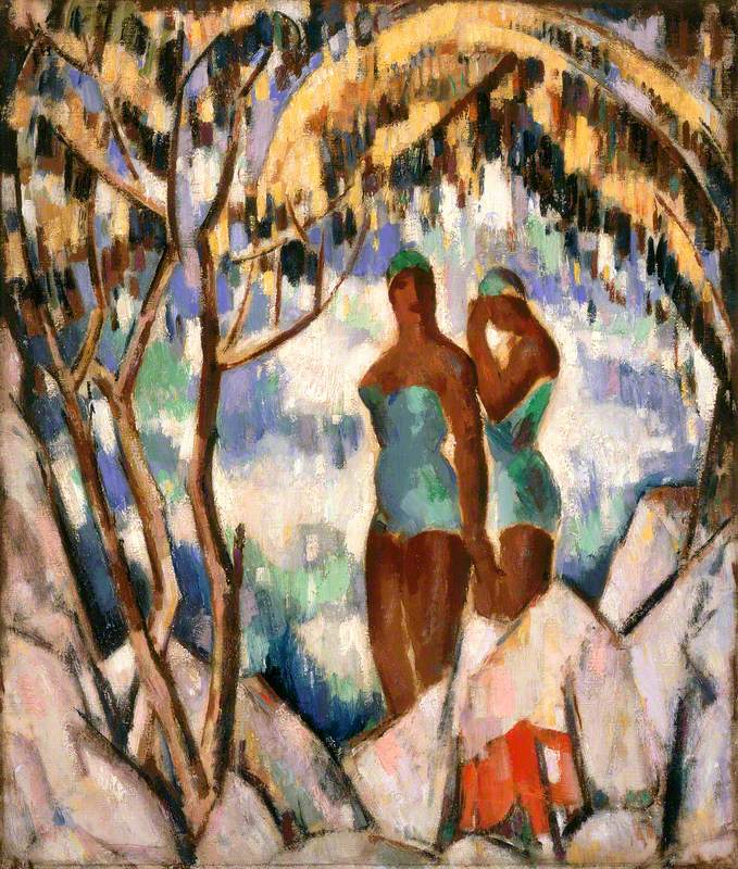 Bathers in Green