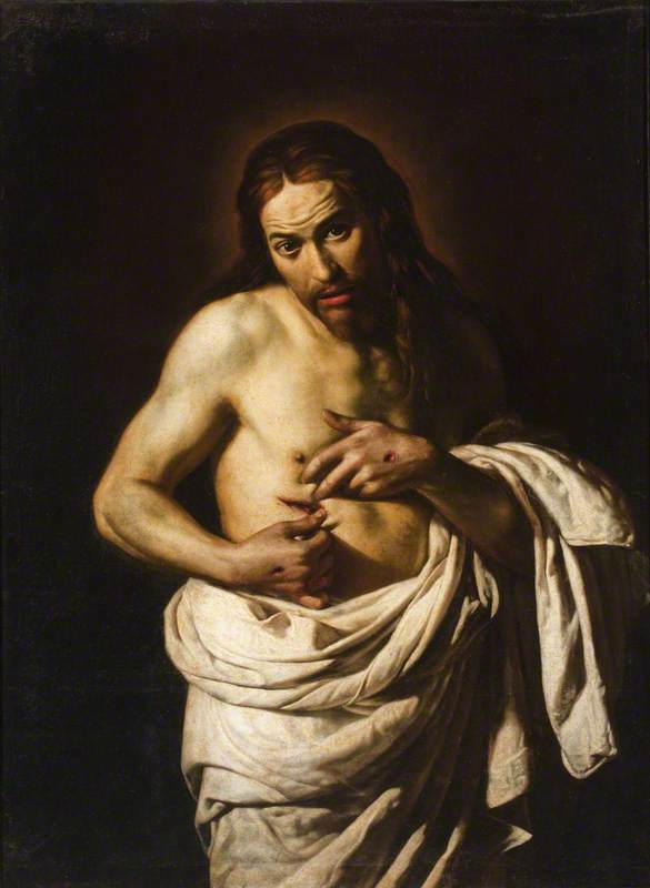 Christ Displaying His Wounds