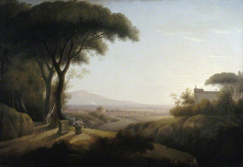 A View of the Campagna of Rome