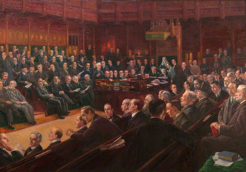 House of Commons, 1914