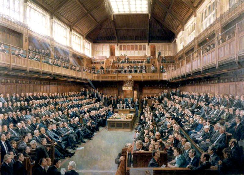 House of Commons, 1986