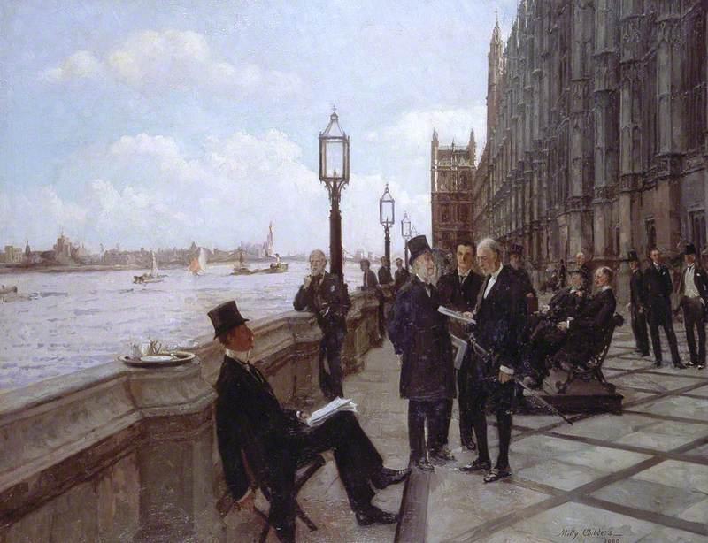 The Terrace, 1909