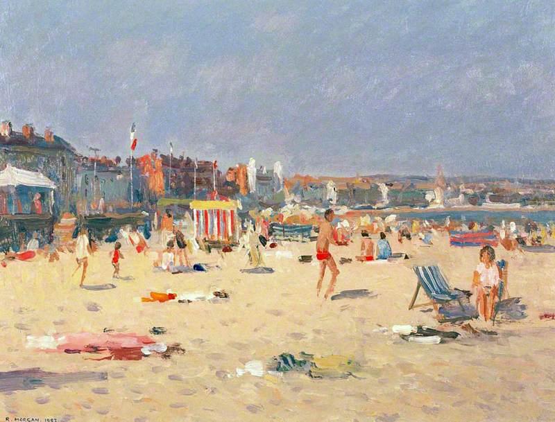 Weymouth Beach, September Afternoon