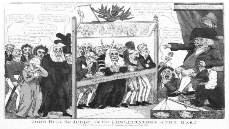 John Bull the Judge or The Conspirators at the Bar