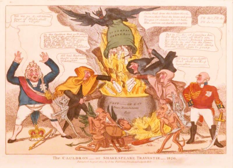 The Cauldron or Shakespeare Travestie