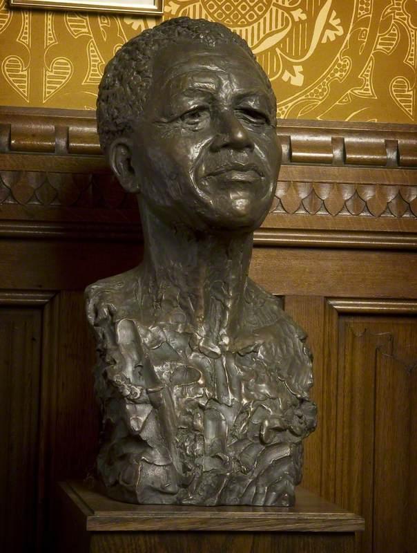 Nelson Mandela (1918–2013), President of the Republic of South Africa