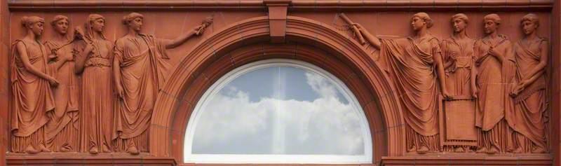 Peel Building Reliefs