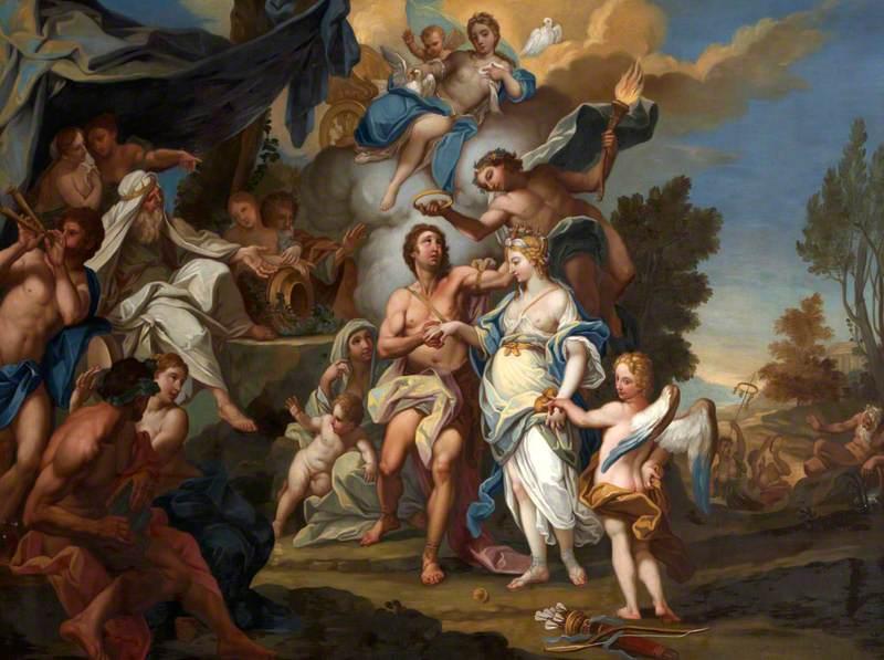The Marriage of Hippomenes and Atalanta