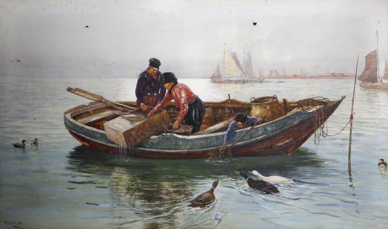 Eel Merchants on the Zuiderzee