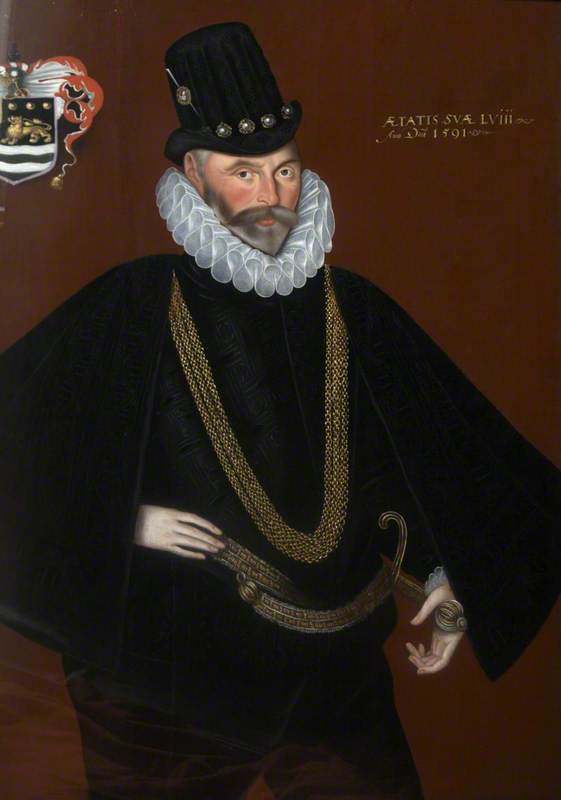 Admiral Sir John Hawkins (1532–1595)