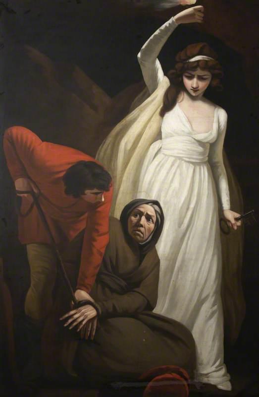 Gil Blas Binds Leonarda to the Leg of a Table