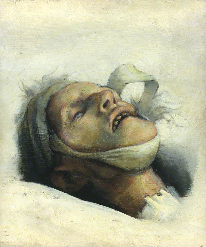 Study of the Painter's Dead Mother