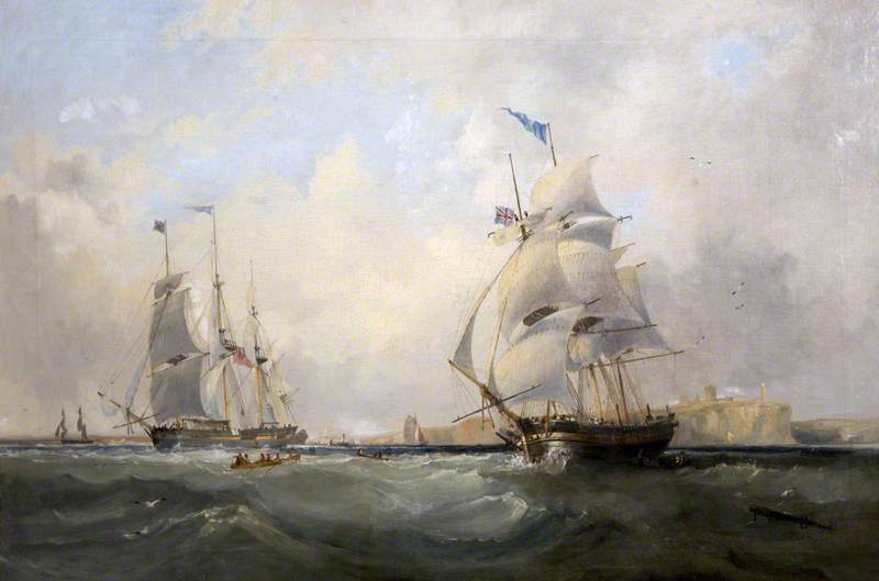 Whalers Entering the Tyne