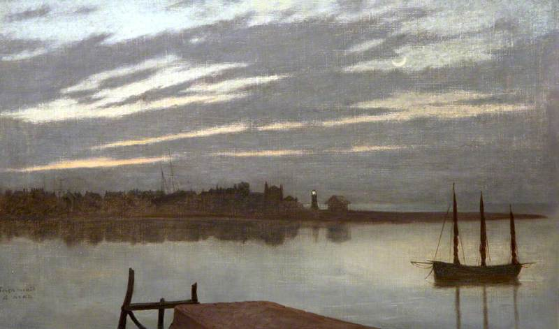Dawn over Teignmouth