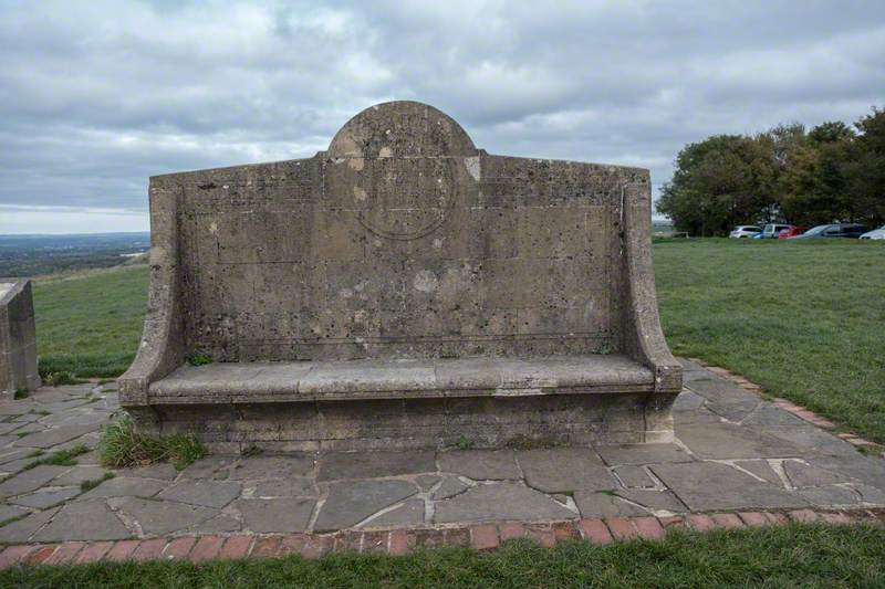 Devil's Dyke Commemorative Seat
