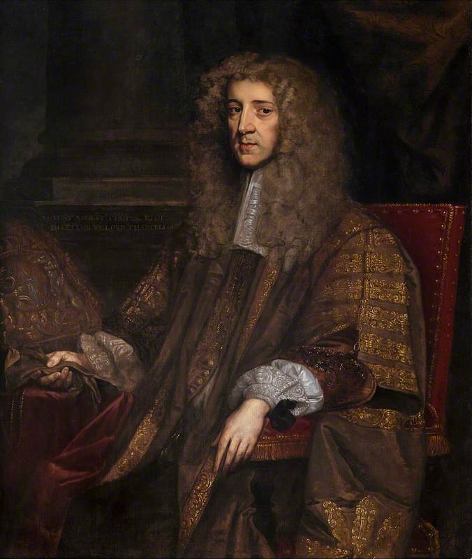 Anthony Ashley Cooper (1621–1683), First Earl of Shaftesbury, Governor of the Charterhouse from 1662