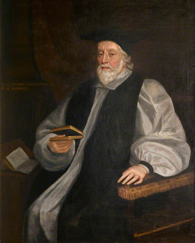 Humphrey Henchman (1592–1675), Bishop of London, Governor of the Charterhouse from 1667