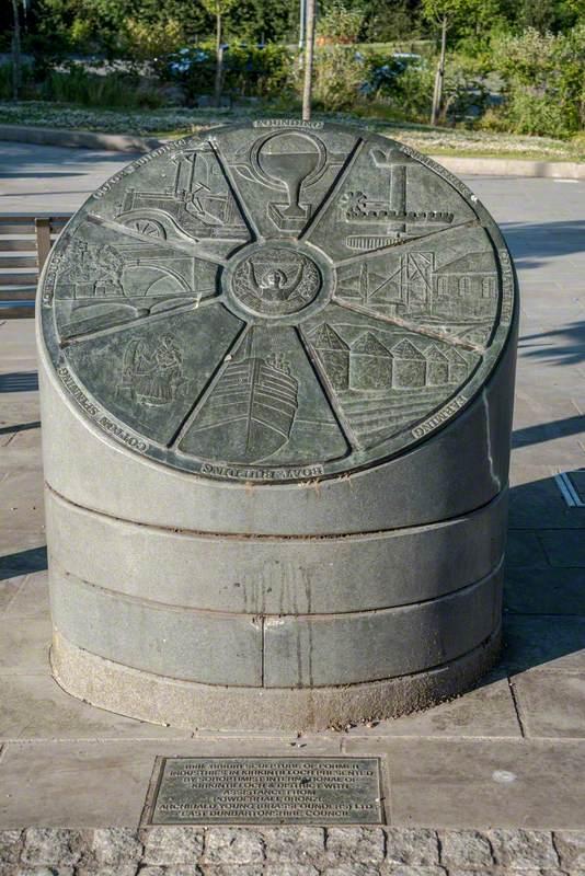 Millennium Sculpture of Former Industries in Kirkintilloch