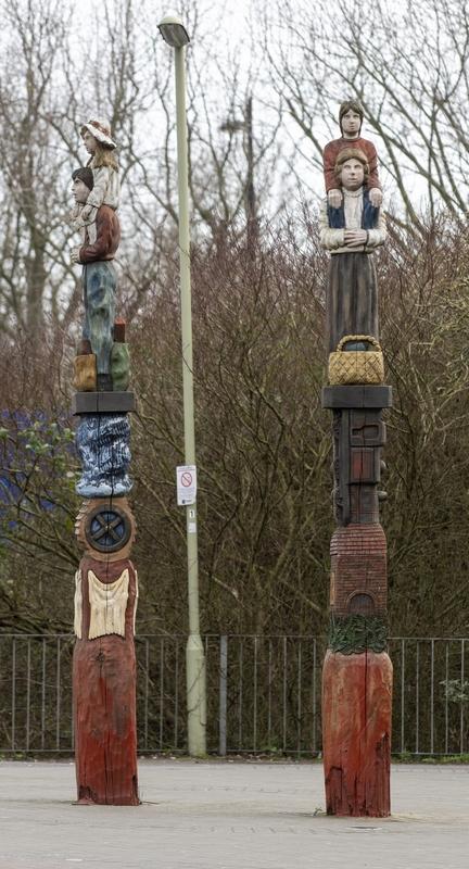 Havant Totem Poles