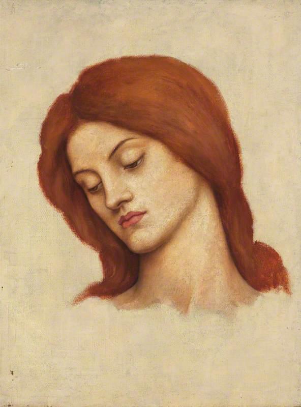 Study for 'Saint Christina'