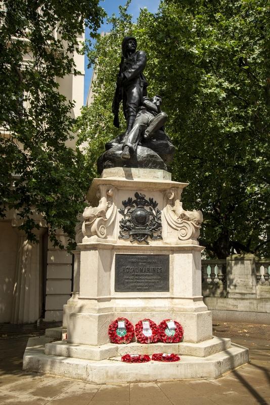 Memorial to the Royal Marines