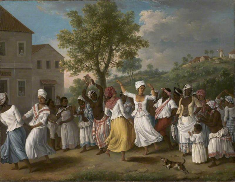 Dancing Scene in the West Indies