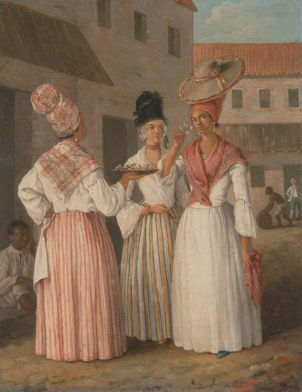 A West Indian Flower Girl and Two Other Free Women of Color