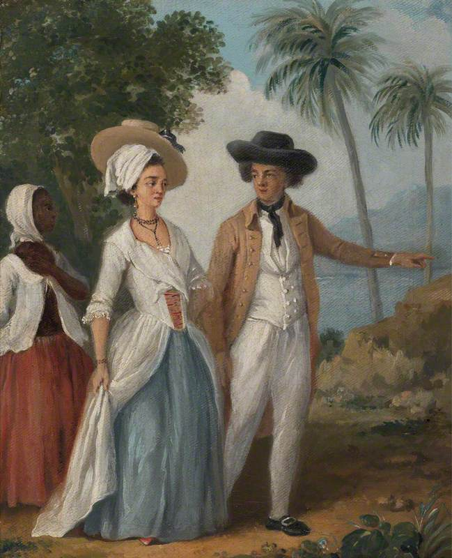 Planter and His Wife, with a Servant