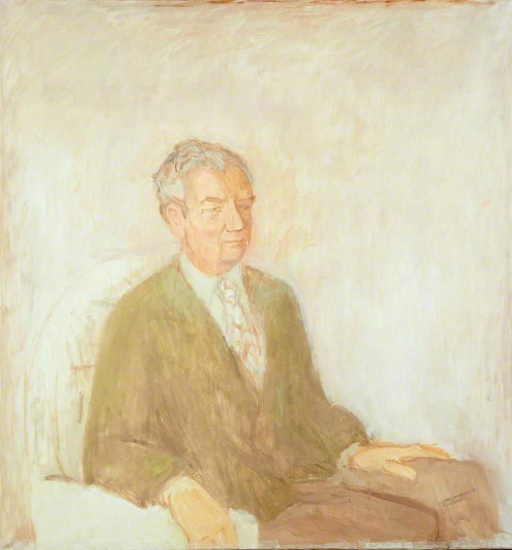 Benjamin Britten (1913–1976), in a Green Cardigan