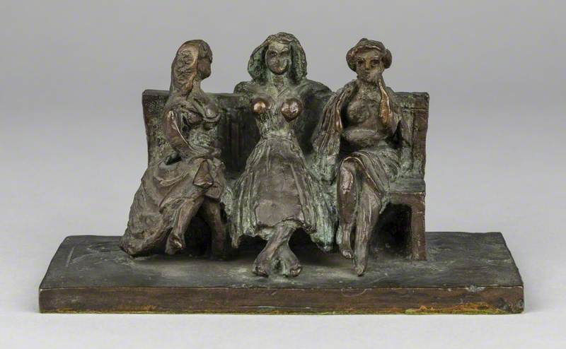 Three Women on a Bench*