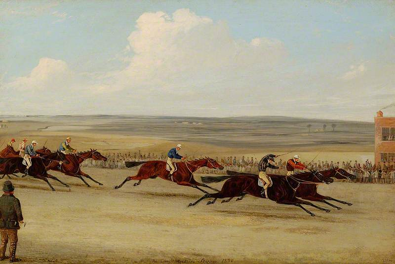 The 1850 Cambridgeshire Stakes: The Finish