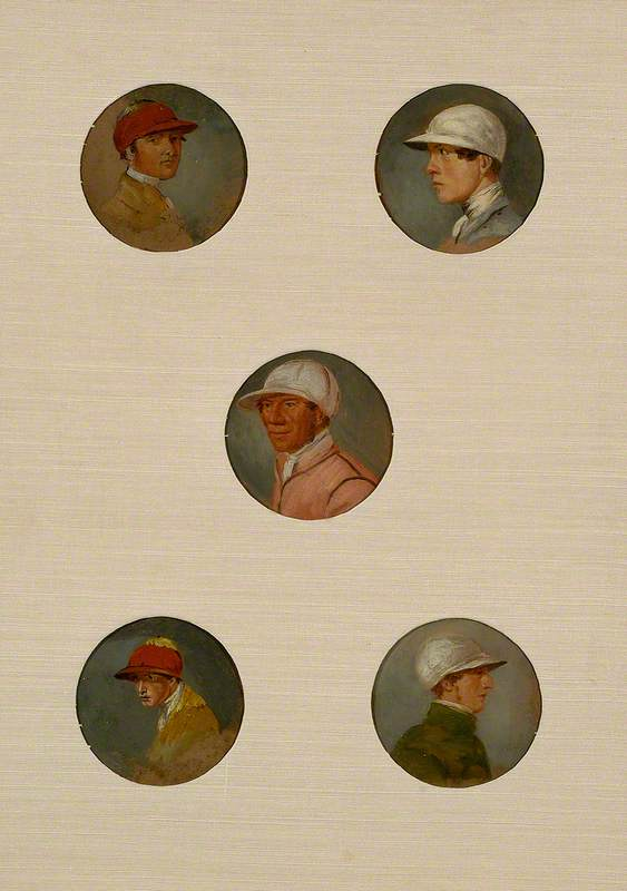 Studies of Sixteen Jockeys I