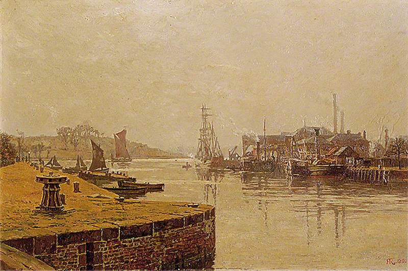 River Orwell at Ipswich