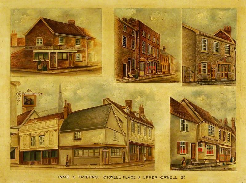 Inns and Taverns, Upper Orwell Street, Ipswich