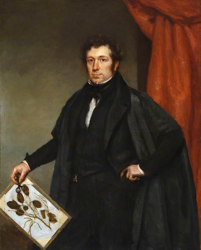 Professor John S. Henslow (1796–1861), President of Ipswich Subscription Museum (1850)