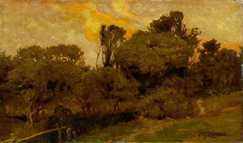 Landscape, Sunset