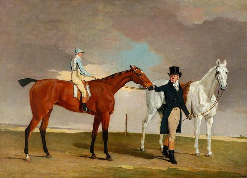 'Shrapnell', W. Arnull up with Trainer Dixon Boyce