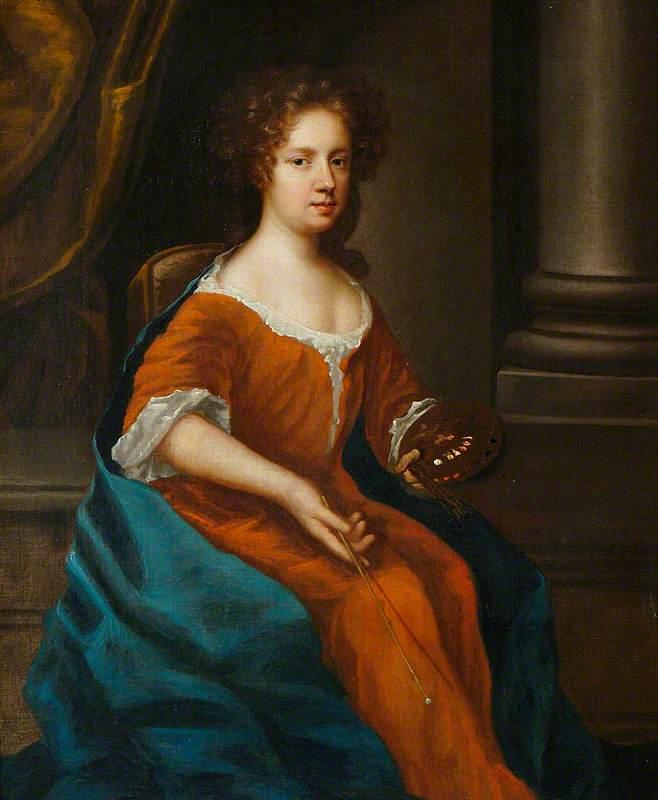 Self Portrait, Holding an Artist's Palette