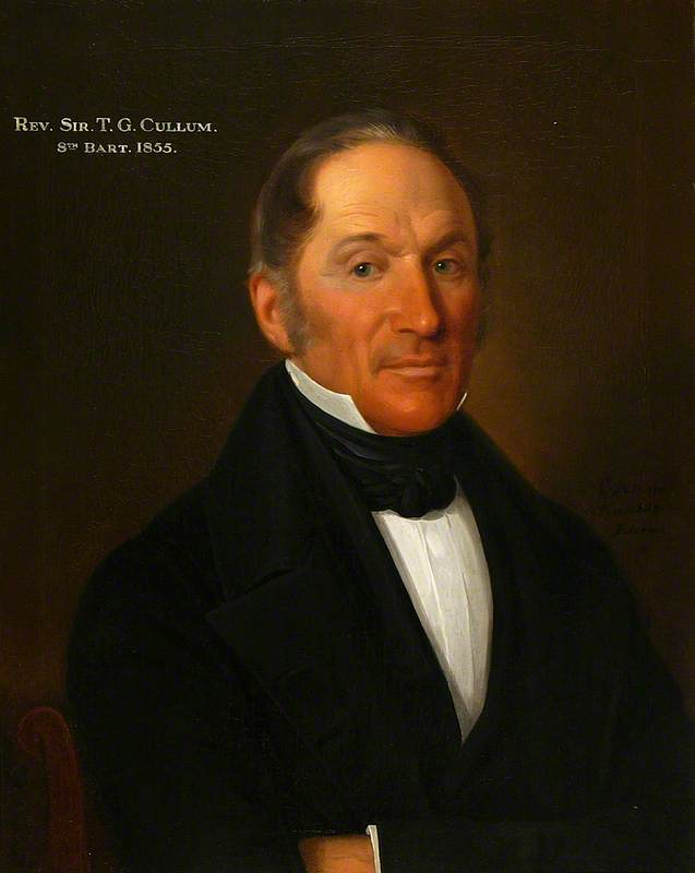 Sir Thomas Gery Cullum (1777–1855), 8th Bt, Chaplain to the Duke of Sussex