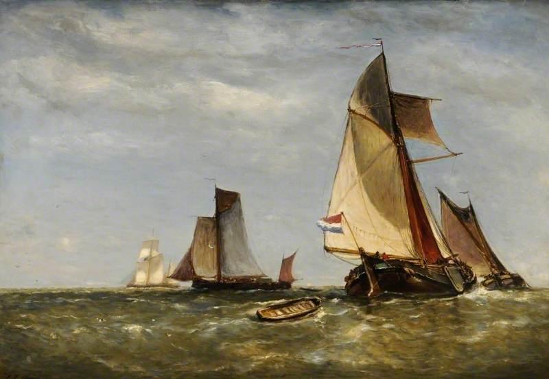 Dutch Fishing Boats