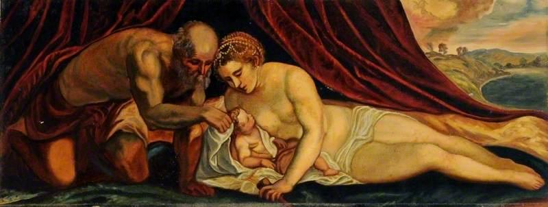 Venus, Vulcan and Cupid