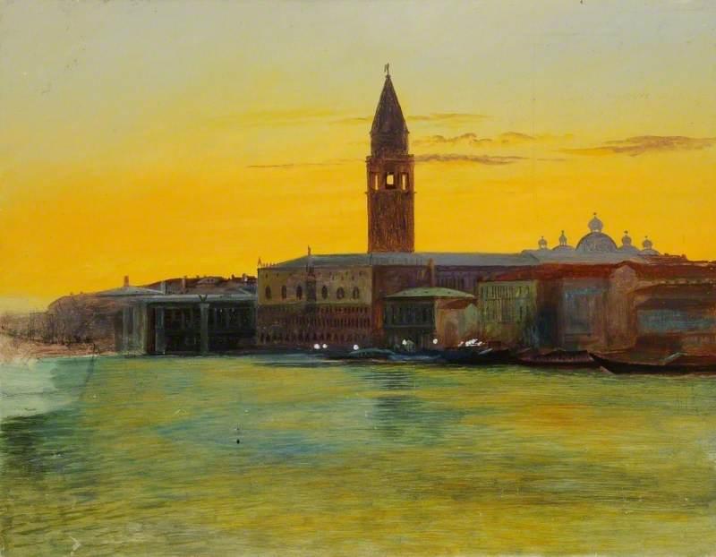 View of the Piazzetta di San Marco from San Giorgio, Venice