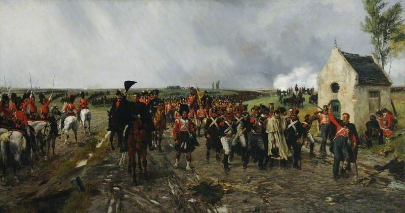 Wellington's March from Quatre Bras to Waterloo
