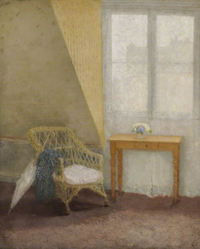 A Corner of the Artist's Room in Paris