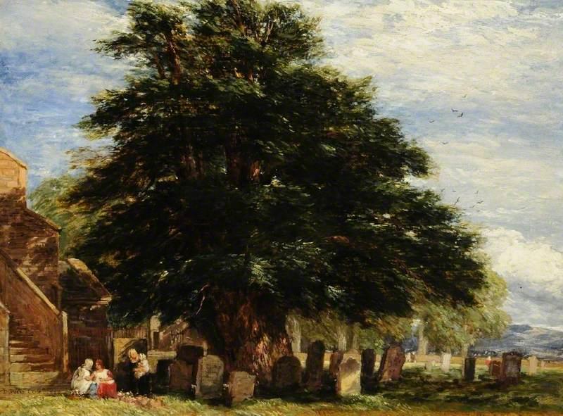 Darley Churchyard, Derbyshire
