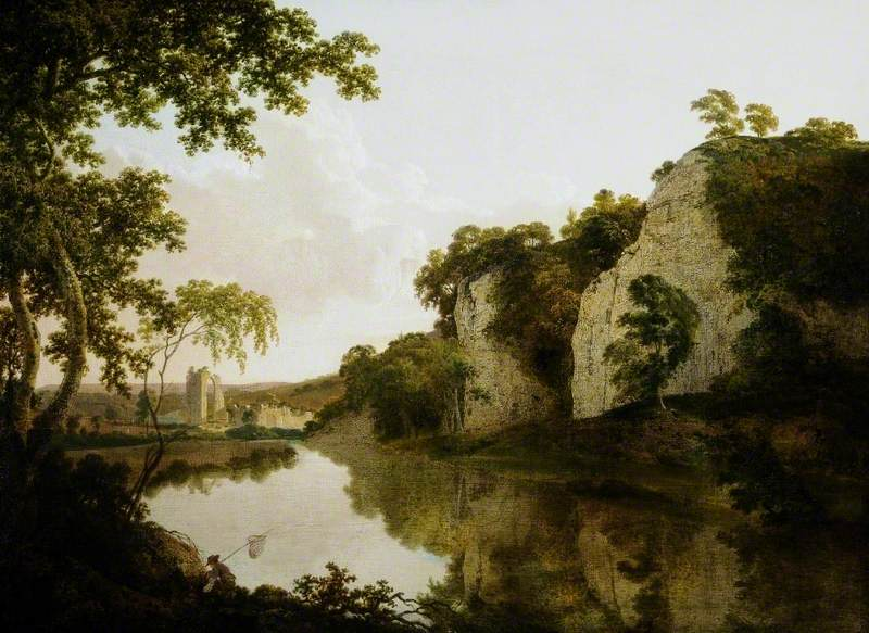 Landscape with Dale Abbey, Derbyshire