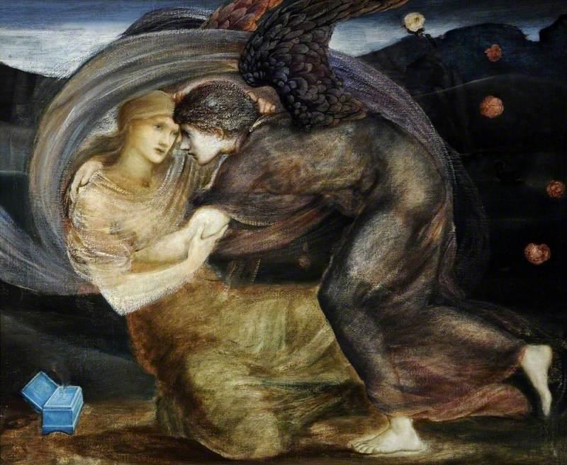 Cupid Delivering Psyche